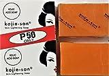 2 Bars Kojie San Kojic Acid Soap 65 grams per bar