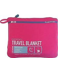 Flight 001 Women's Emergency Travel Blanket, Pink, One Size