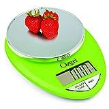 Ozeri ZK12-L Pro Digital Kitchen Food Scale, 1g/12 lb, Lime Green