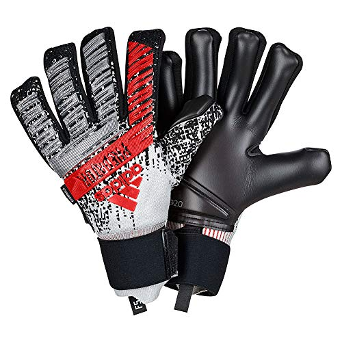 adidas Predator PRO FINGERSAVE 302 RE-Direct Pack Goalkeeper Gloves Metallic Silver