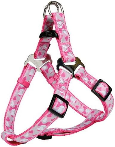 Arte Moderno Arnés del perro rosa, rosa. Mediano (50 – 65 cm/20 mm ...