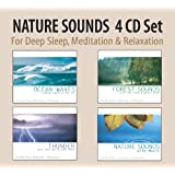 NATURE SOUNDS 4 CD Set - Ocean Waves, Forest...