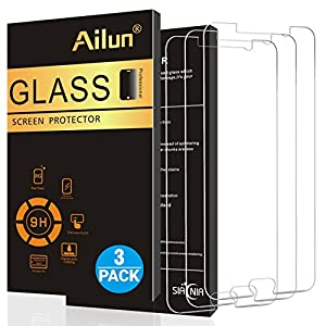 AILUN Screen Protector for Galaxy Note 5,[3 Pack],Tempered Glass,2.5D Edge,Ultra Clear,Anti-Scratch,Case Friendly-Siania Retail Package