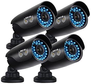 Amazon.com : Night Owl Security 4 pack of Indoor/Outdoor 720p ...