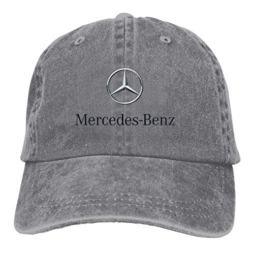 - Syins Personalized Mercedes Benz Logo Cool Hat Cap for Men Gray
