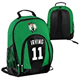 FOCO NBA Boston Celtics Kyrie Irving #11 Primetime Backpack School Gym Bag