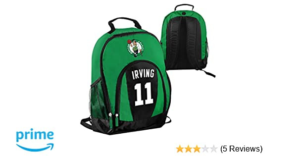 Amazon.com : FOCO NBA Boston Celtics Kyrie Irving #11 Primetime Backpack School Gym Bag : Sports & Outdoors