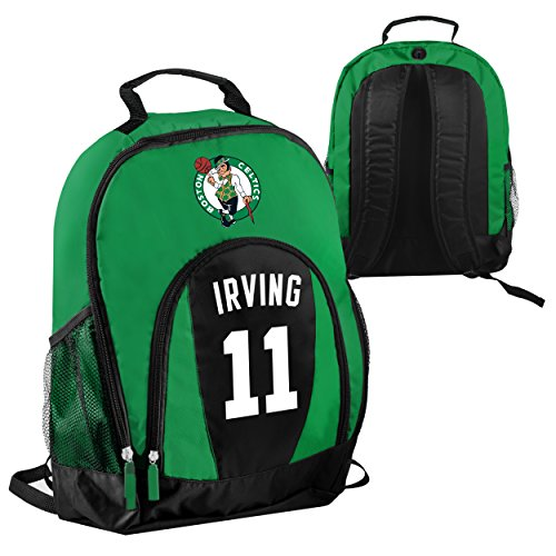 FOCO NBA Boston Celtics Kyrie Irving #11 Primetime Backpack School Gym Bag by FOCO