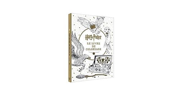 Harry Potter Le Livre De Coloriages The Coloring Book