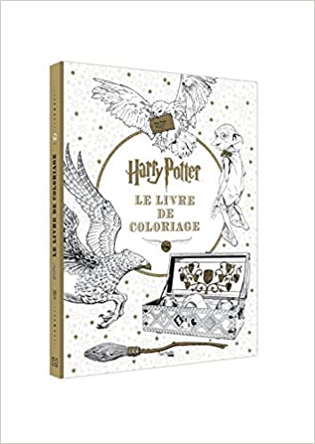 Coloriage En Ligne Harry Potter Gratuit.Harry Potter Le Livre De Coloriages Amazon Fr Collectif Livres