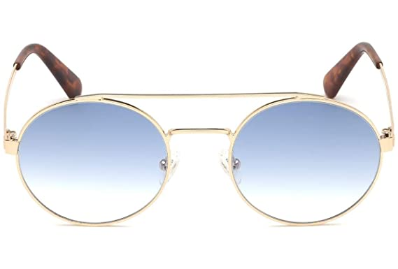 Guess - Gafas de sol - para hombre Amarillo dorado Large ...