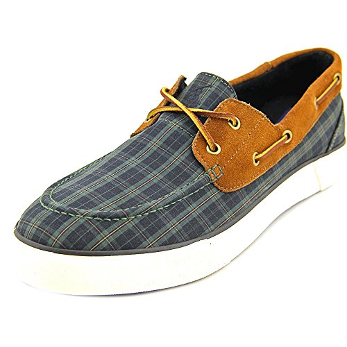 Polo Ralph Lauren Lander Men US 13 Green Moc Boat Shoe