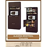 HOME DESIGN Alacena Montreal Chocolate