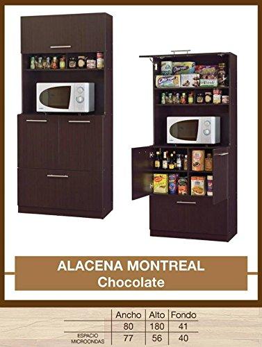HOME DESIGN Alacena Montreal Chocolate