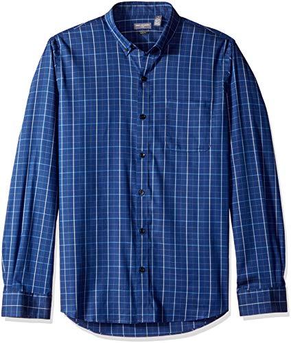 - Van Heusen Men's Slim Fit Flex Stretch Non Iron Shirt, Blue Underground Stripe, XX-Large Slim