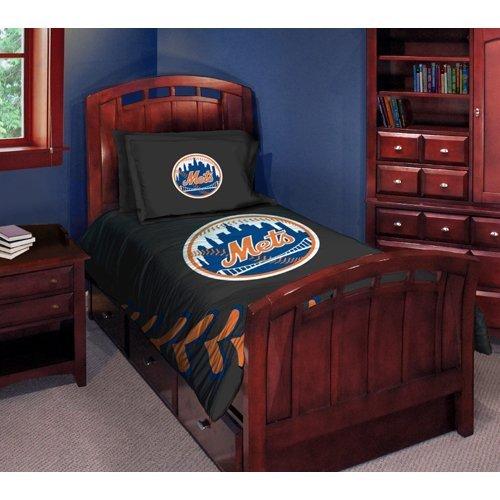 The Northwest Company New York Mets Comforter Set - Twin Bed New York Mets Sham