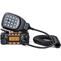 Juentai JT-6188 Dual Band VHF/UHF 136-174/400-480MHz VHF 25Watt UHF 20Watts Dual Band Two Way Radios Mobile Transceiver Walkie Talkie by Juentai