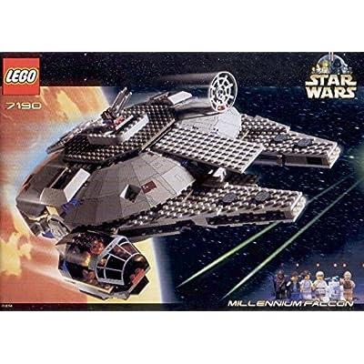 LEGO Star Wars Millenium Falcon Set 7190 - Large: Toys & Games