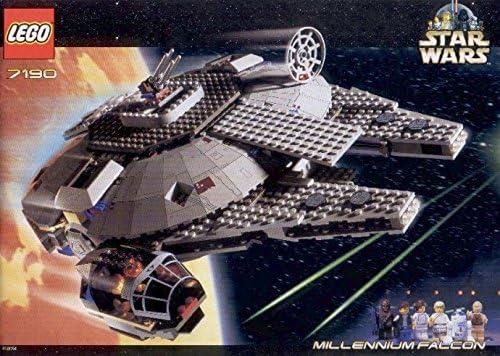 LEGO Star Wars 7190: Millennium Falcon (Released in 2000): Amazon ...
