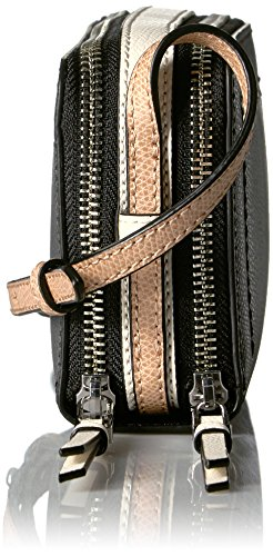 Boxy Combo Black Crossbody Klein Leather Mercury Calvin Zip Around 5BwH1Bq