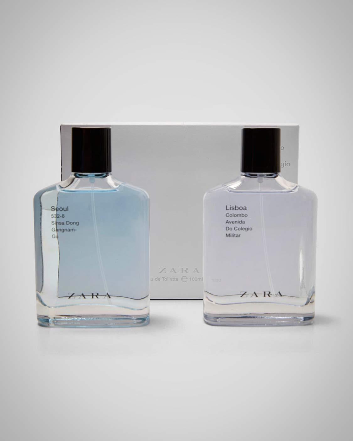 Zara SEOUL/LISBOA x2 Eau de Toilette 3.4 fl. oz.