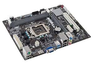 ECS Elitegroup Socket LGA 1155 Micro ATX DDR3 1600 Intel Motherboard B75H2-M4 (1.0)