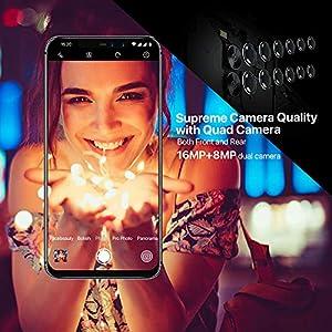 51b8mLPg8ZL. SS300  - UMIDIGI-Z2-62-FullView-Display199-Ratio-64GB-ROM6GB-RAM-Unlocked-Cell-Phone-Dual-Sim-4G-Volte-Unlocked-Smartphone-16MP8MP-Dual-Camera-3850mAh-Battery-Android-81-Cellphone-Twilight