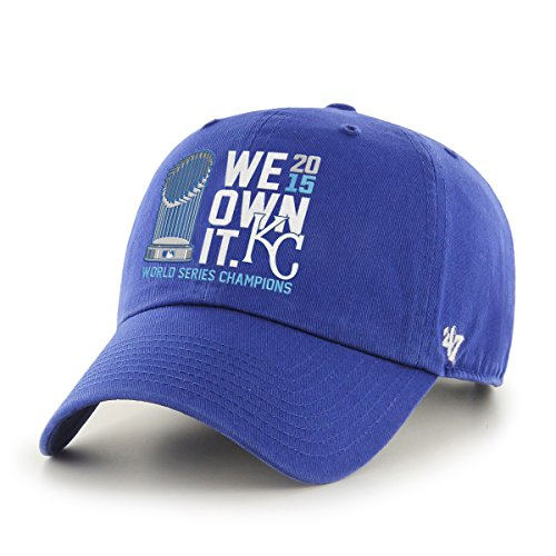 MLB Kansas City Royals Clean Up Adjustable Hat, One Size, Ro