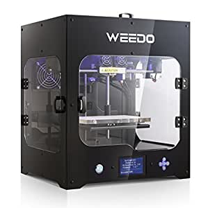 3D Printer Desktop High Precision by WEEDO M2 Metal Frame Structure Single Extruder Air Particle Filtration Low Noise and Odor