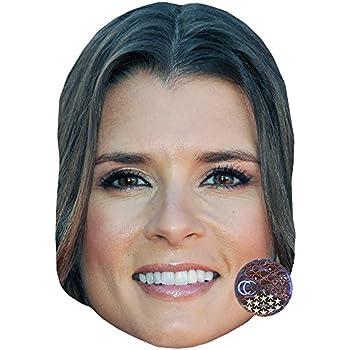 Card Face and Fancy Dress Mask Patrick Bruel Celebrity Mask