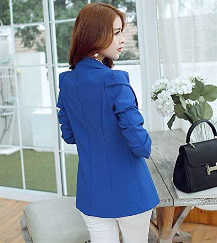 Unico Camicia Sapp Moda Ufficio Formale Slim Primaverile Tailleur Moda Business Coat Parigine Blazer Bavero Fit Stile Autunno Eleganti Donna Lunga Base Manica nHw1xqOw