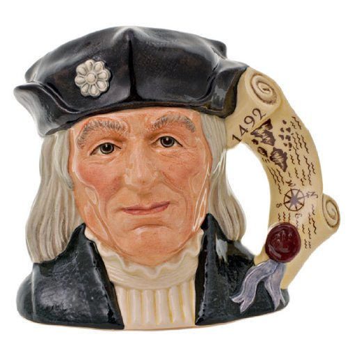 - Royal Doulton Character & Toby Jugs Christopher Columbus Large H. 7