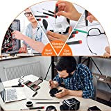 Precision Screwdriver Set of 19, E.Durable Triwing, Philips, Flat, Torx and Pentalobe Screwdriver Set with Nylon Case, Professional Repair Tool Kit for Macbook, XBOX, PS4, Computer, Electronics Etc