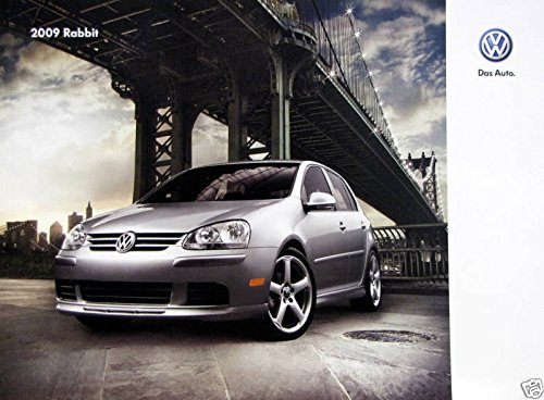 Hatchbacks Volkswagen Rabbit - 2009 Volkswagen Rabbit hatchback new vehicle brochure