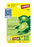 Carmex Ultra Smooth Lip Balm, SPF 15, Lime Twist, .15 oz