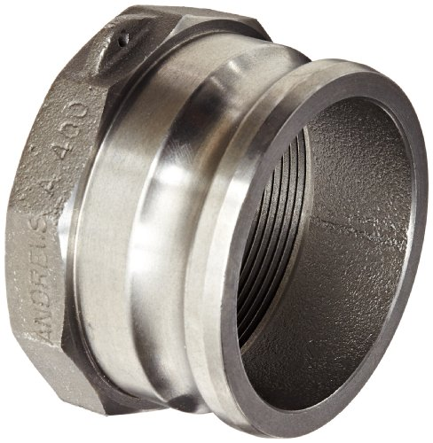 Dixon 400-A-MI Unplated Iron Boss-Lock Type A Cam and Groove Hose Fitting, 4