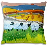 Baaad Girls Funny Sheep Cushion Gift by Thomas Joseph by Thomas Joseph