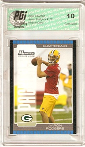 Used, Aaron Rodgers 2005 Bowman Packers Rookie Card PGI 10 for sale  Delivered anywhere in USA