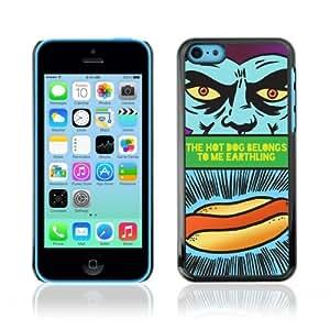 YOYOSHOP [Funny Hot Dog Sign] Apple iPhone 5C Case