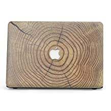"BELK-New MacBook Pro 13 Inch (2016 Release) Case,2 In 1 Wood Texture Pattern Coated Plastic Hard Case With Keyboard Cover For MacBook Pro 13.3"" With Touch Bar (A1706)"