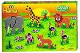 Hama / Safari Animals Fuse Beads Giant Gift Set