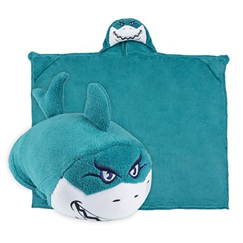Comfy Pillow Critters B077YYKQK9 Stuffed Animal Travel%% Blanket Shark Kids Huggable Pillow and Blanket Perfect for Pretend Play%% Travel%% nap time. [並行輸入品] B077YYKQK9, ブートスポット:eb01734e --- verkokajak.se