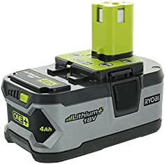 Ryobi P108 4AH One+ High Capacity Lithium Ion Battery For Ryobi Power Tools (...