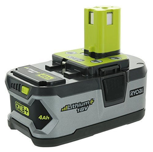 Ryobi P108 4AH One+ High Capacity Lithium Ion Battery For Ryobi Power Tools (Single Battery) - Capacity Lithium Ion Battery