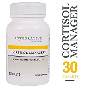 Cortisol Manager – Integrative Therapeutics – Sleep, Stress, and Cortisol Support Supplement* with Ashwagandha, Magnolia, and L-Theanine – Support Adrenal Health* – Vegan – 30 Tablets
