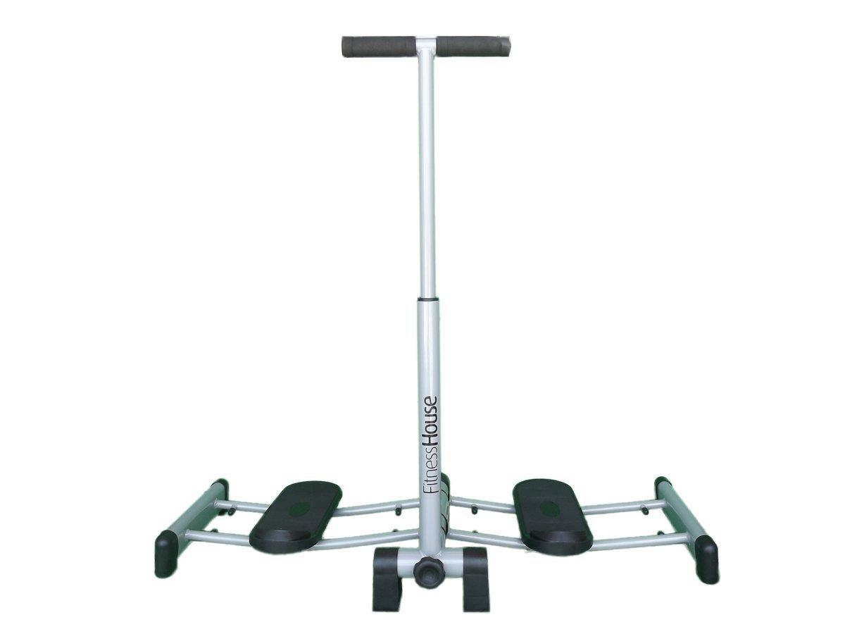 Fitness House Leg Magic Appareil de Musculation des Jambes Gris Taille Unique
