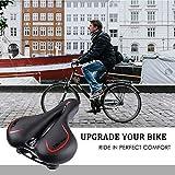 OUTERDO Bike Saddle Mountain Bike Seat Breathable