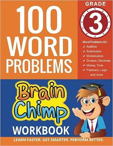 Amazon.com: 100 Word Problems : Grade 3 Math Workbook ...