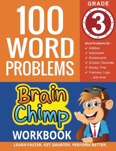 100 Word Problems : Grade 3 Math Workbook