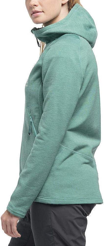 Haglöfs Women's Heron Hood Mid Layer blue